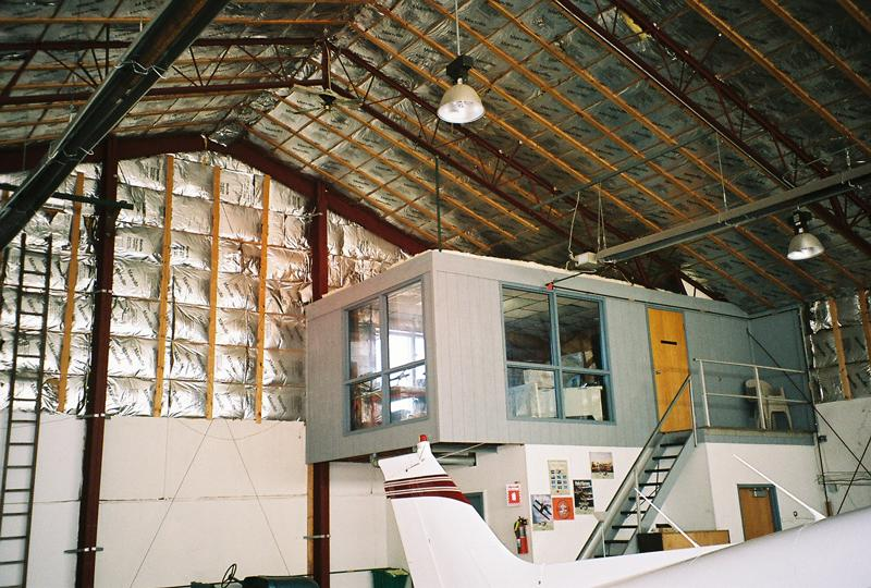 blue hangar office