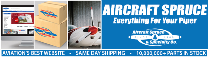 Aircraft Spruce Everything for your Piper 2020