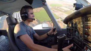 My First Solo Flight - Piper Warrior II - KCNO