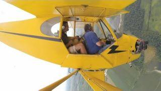 Spin training in the Piper Cub at HXF