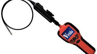"VA-150 Two-Way Articulating Borescope Videoscope Inspection Camera 6mm Probe 2.7"" LCD for Technician"
