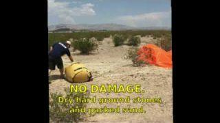 Turtle-Pac Air Drop Fuel - Combat Fuel Drop - Humanitarian Air Drop