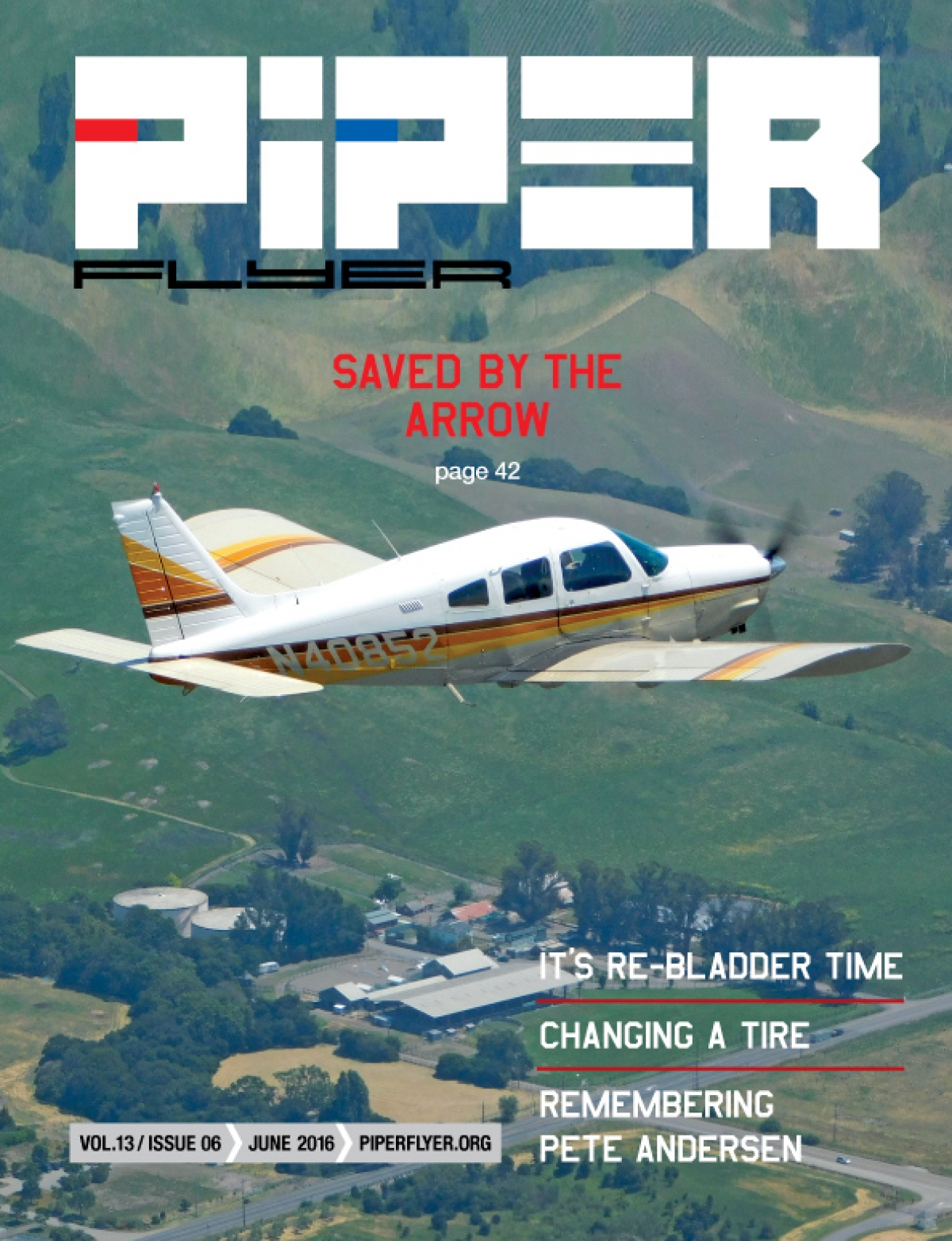 June 2016 Piper Flyer magazine