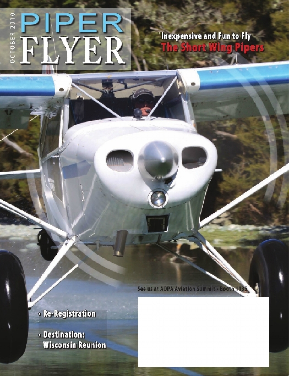 October 2010 Piper Flyer magazine