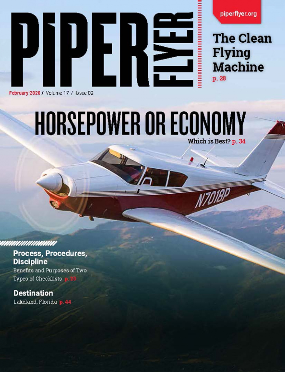 FEBRUARY 2020 PIPER FLYER MAGAZINE