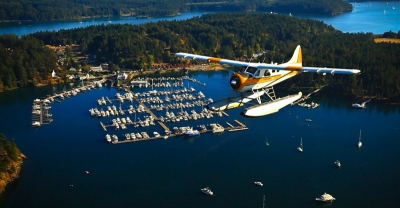 Flying to the San Juan Islands