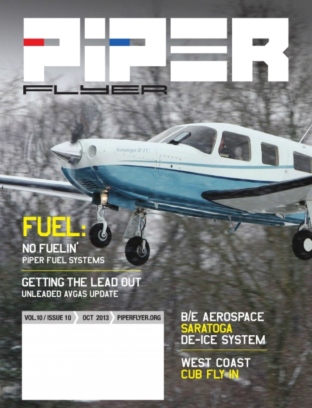October 2013 Piper Flyer magazine