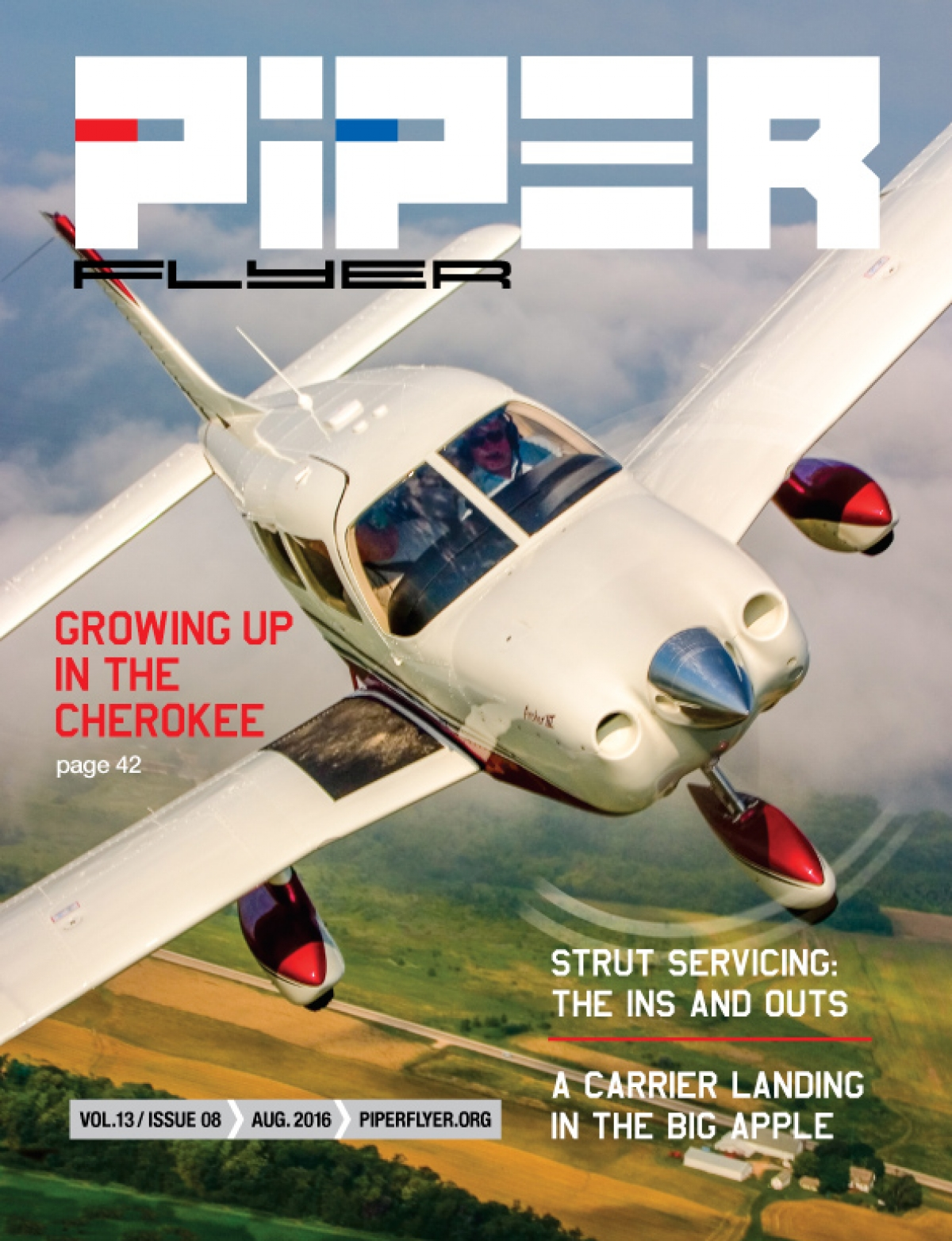 August 2016 Piper Flyer magazine