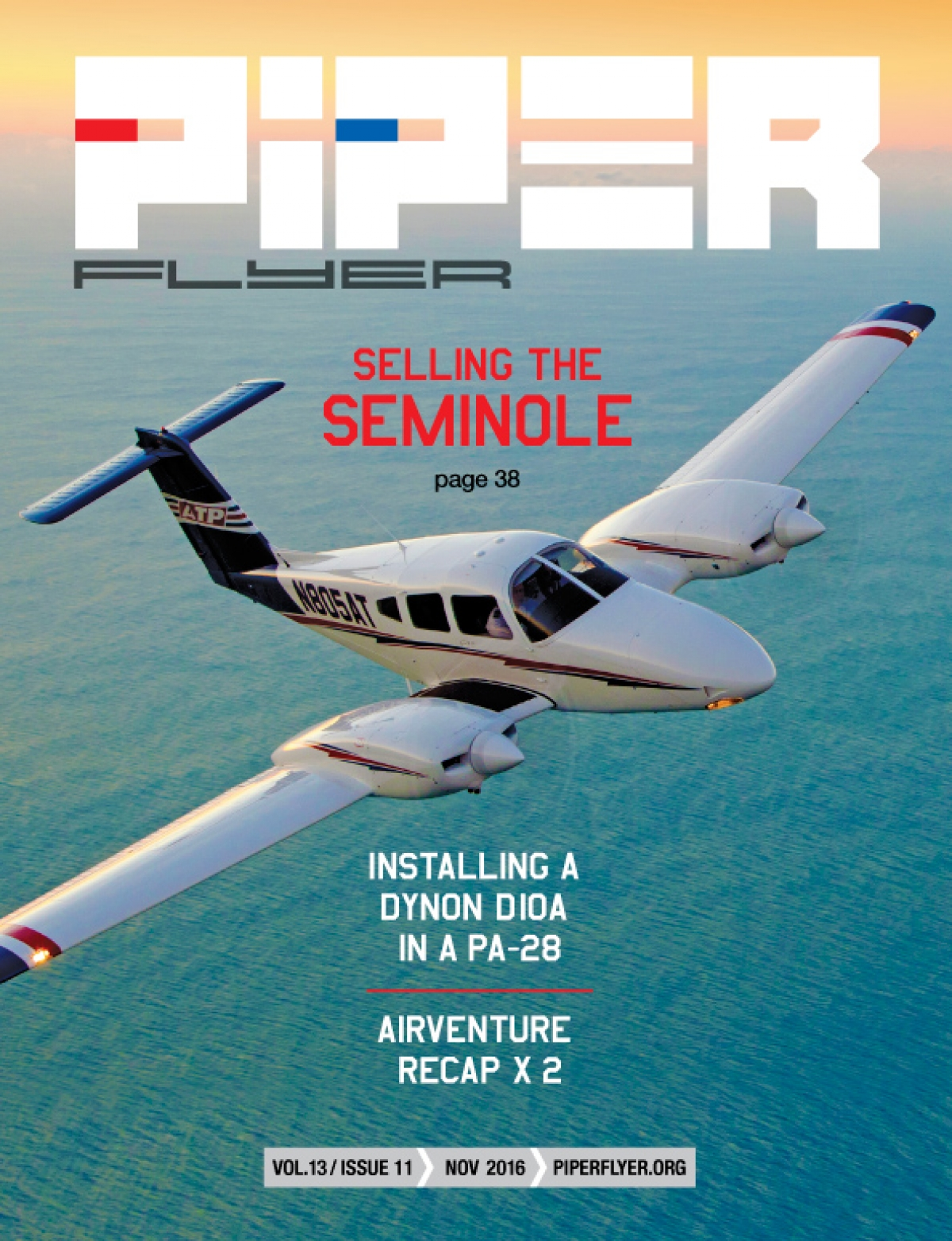 November 2016 Piper Flyer magazine