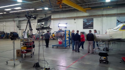 "Discovery Channel's ""How It's Made"" Finalizes Filming at Piper Aircraft"