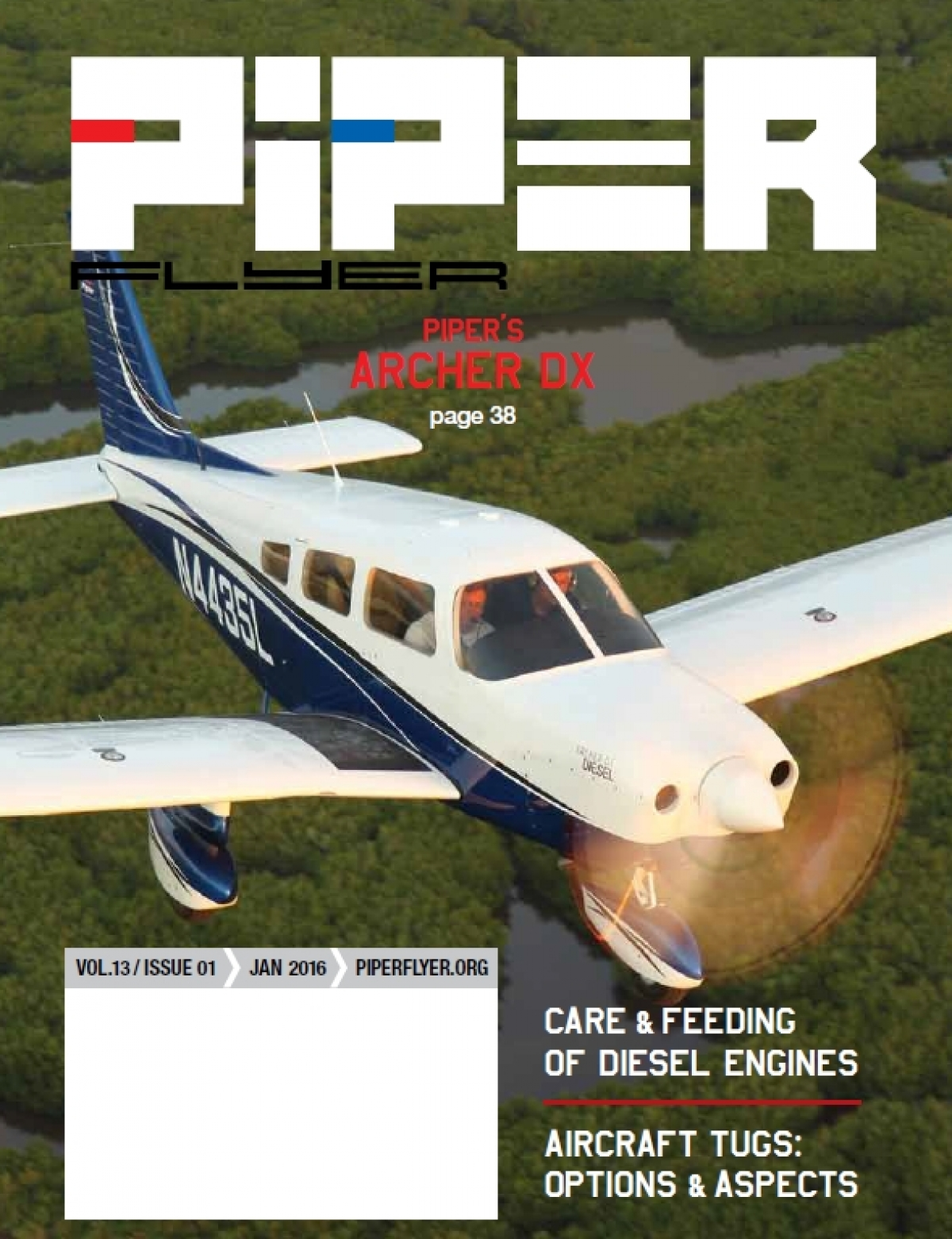 January 2016 Piper Flyer magazine