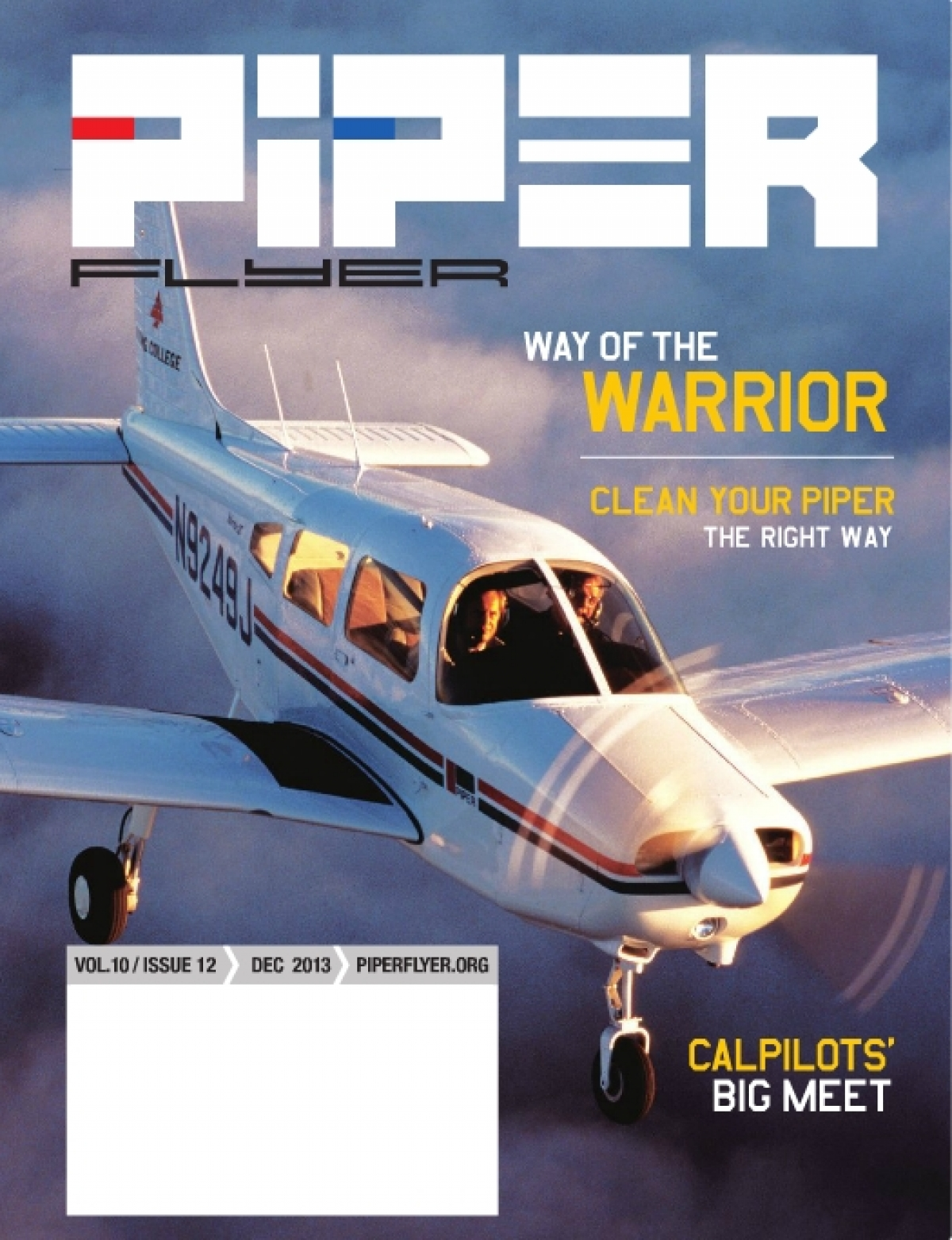 December 2013 Piper Flyer magazine