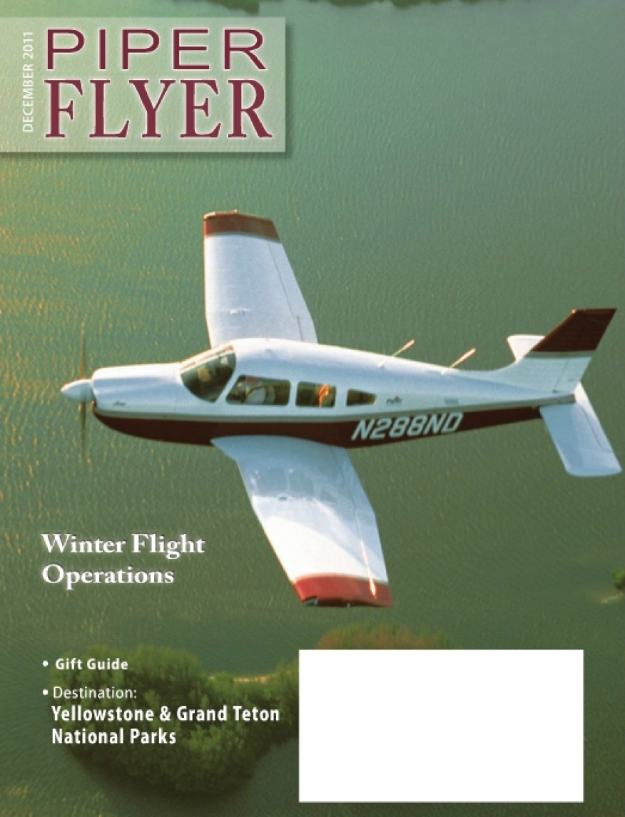 December 2011 Piper Flyer magazine