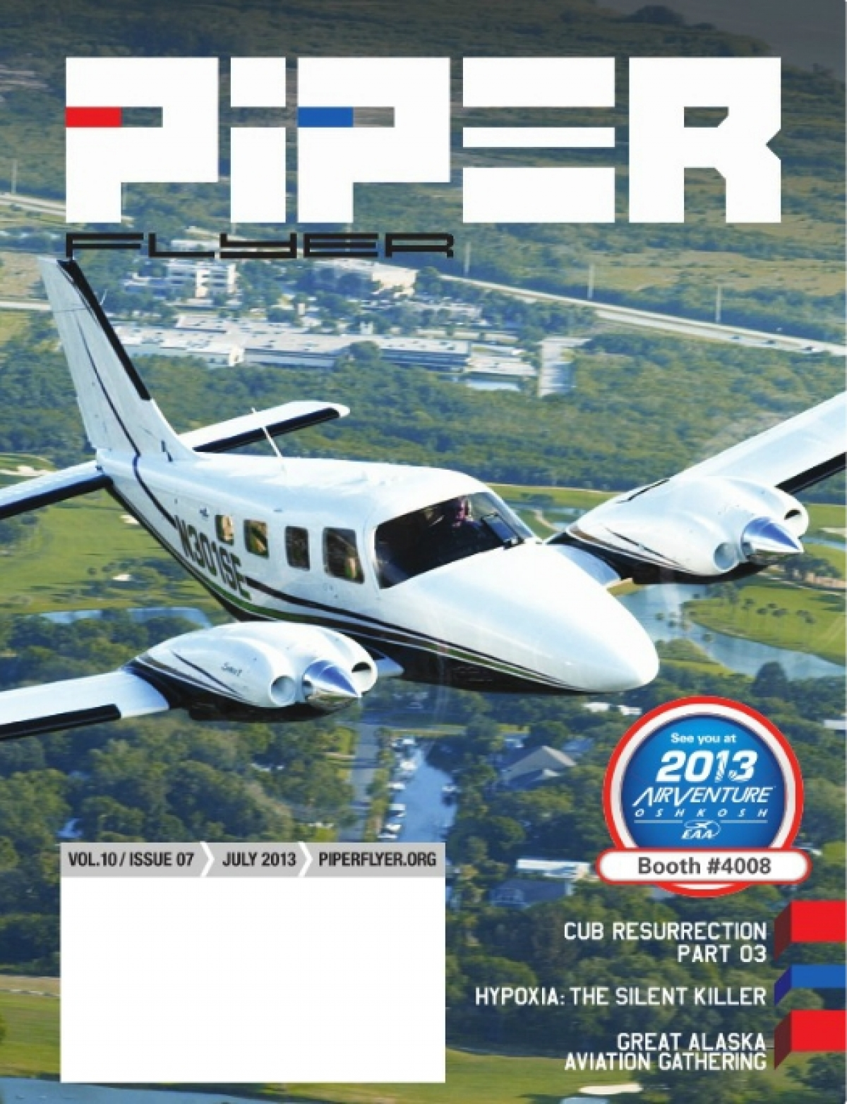 July 2013 Piper Flyer magazine