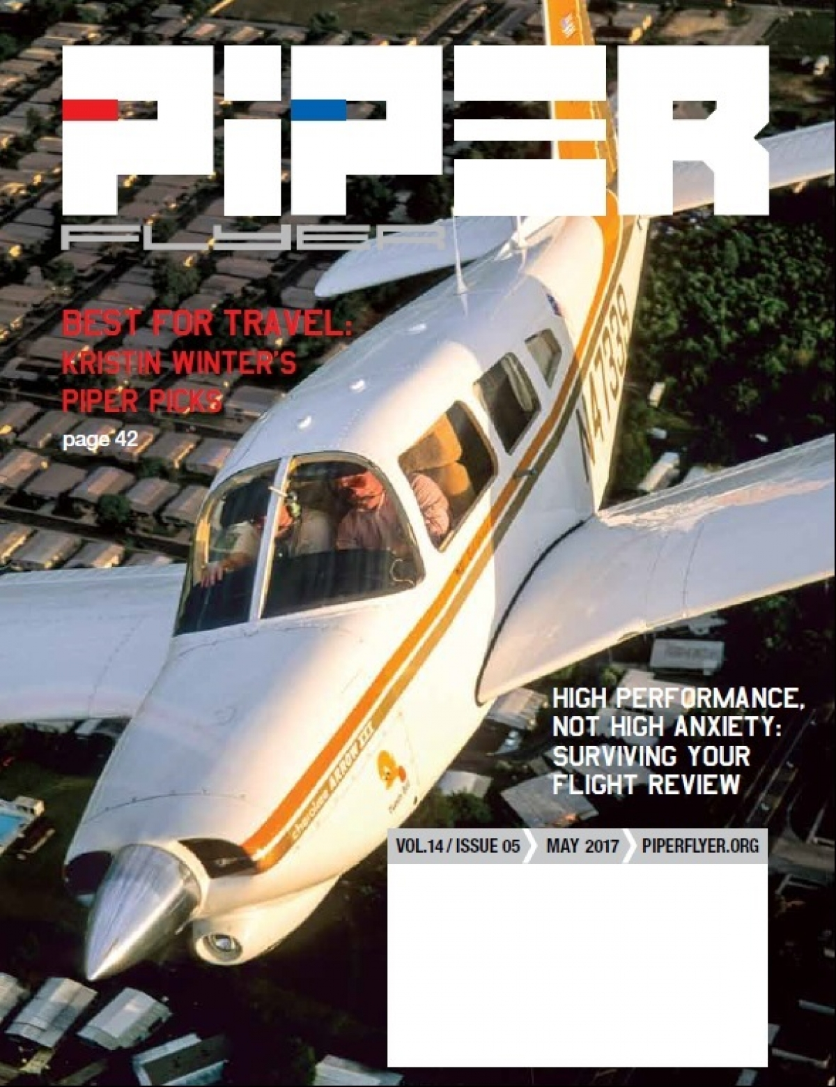 May 2017 Piper Flyer magazine