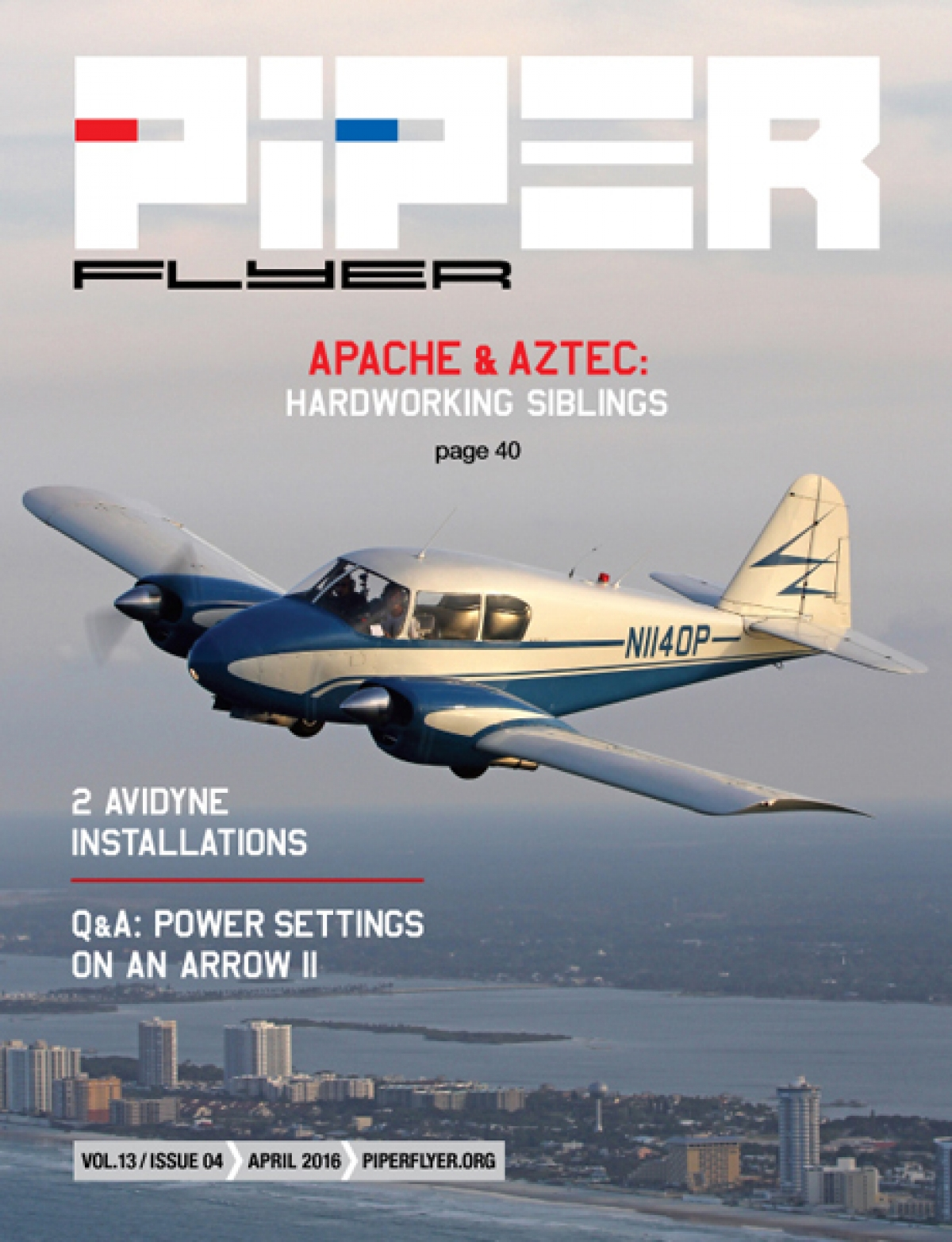 April 2016 Piper Flyer magazine