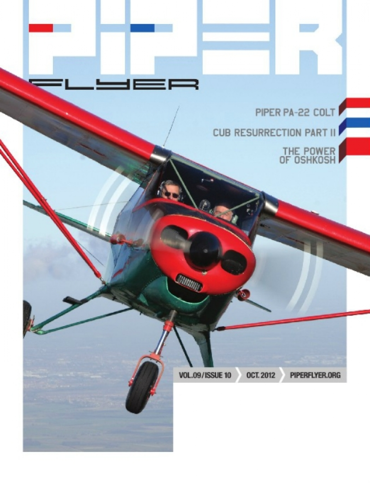 October 2012 Piper Flyer magazine