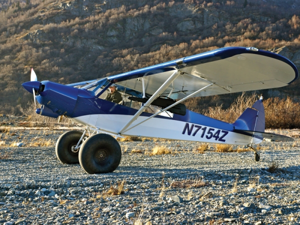 "A highly modified PA-18 ""Monster Cub"""