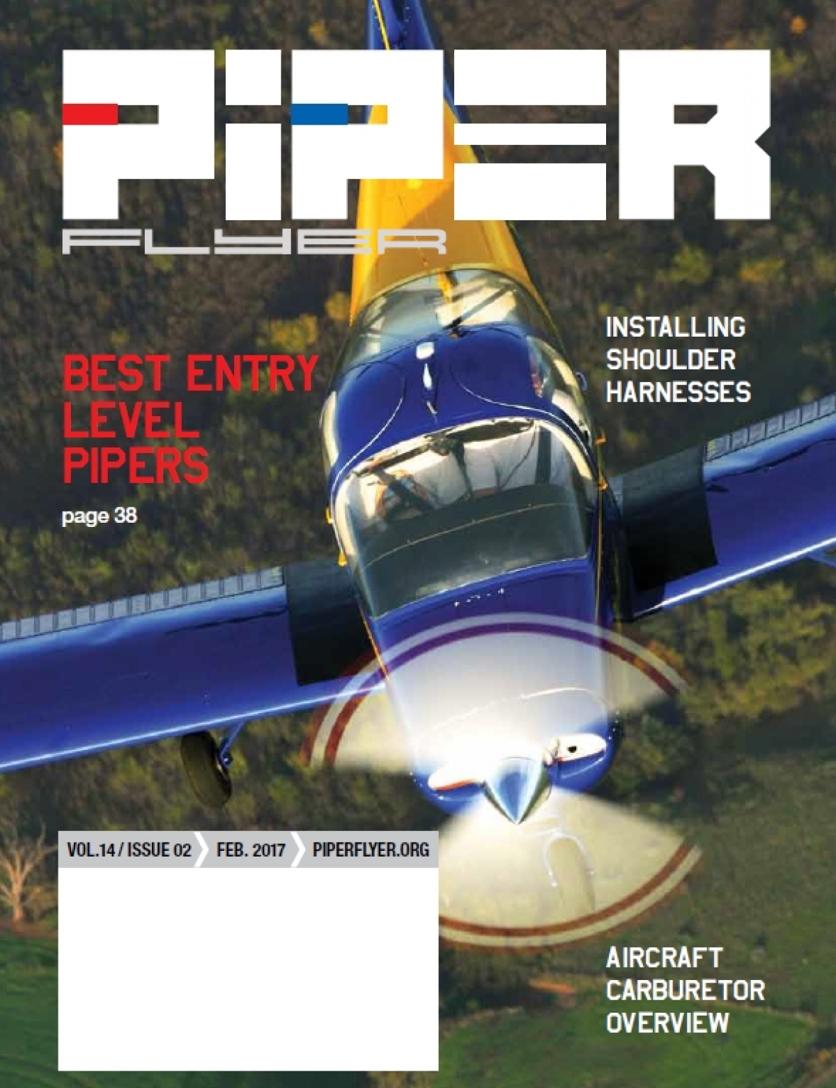 February 2017 Piper Flyer magazine