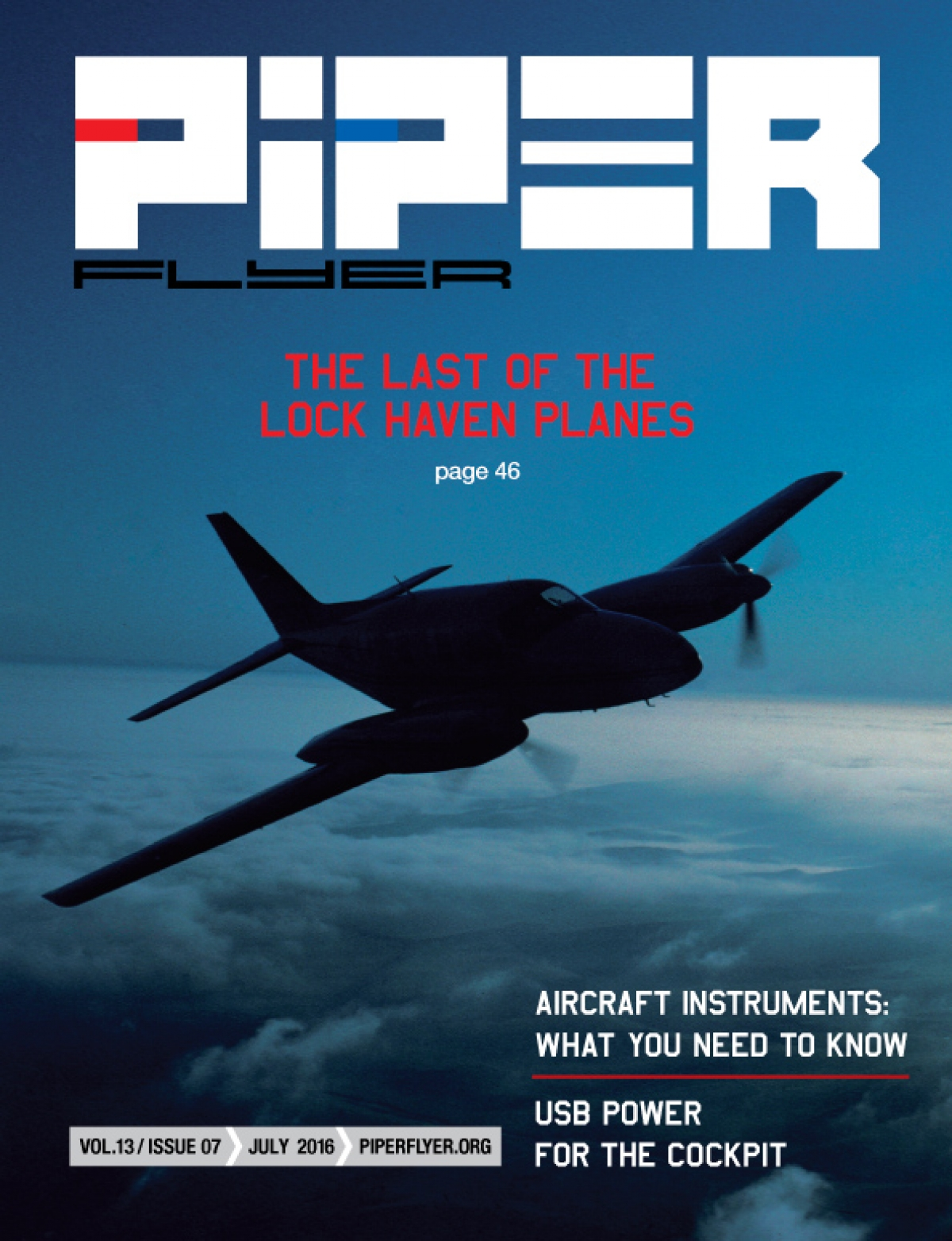 July 2016 Piper Flyer magazine