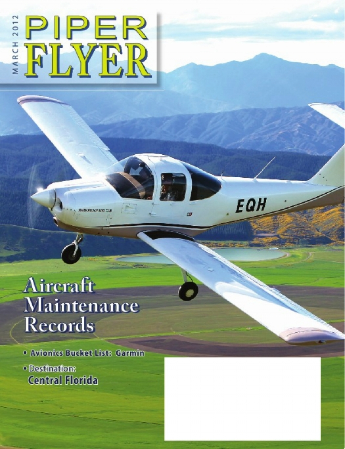 March 2012 Piper Flyer magazine