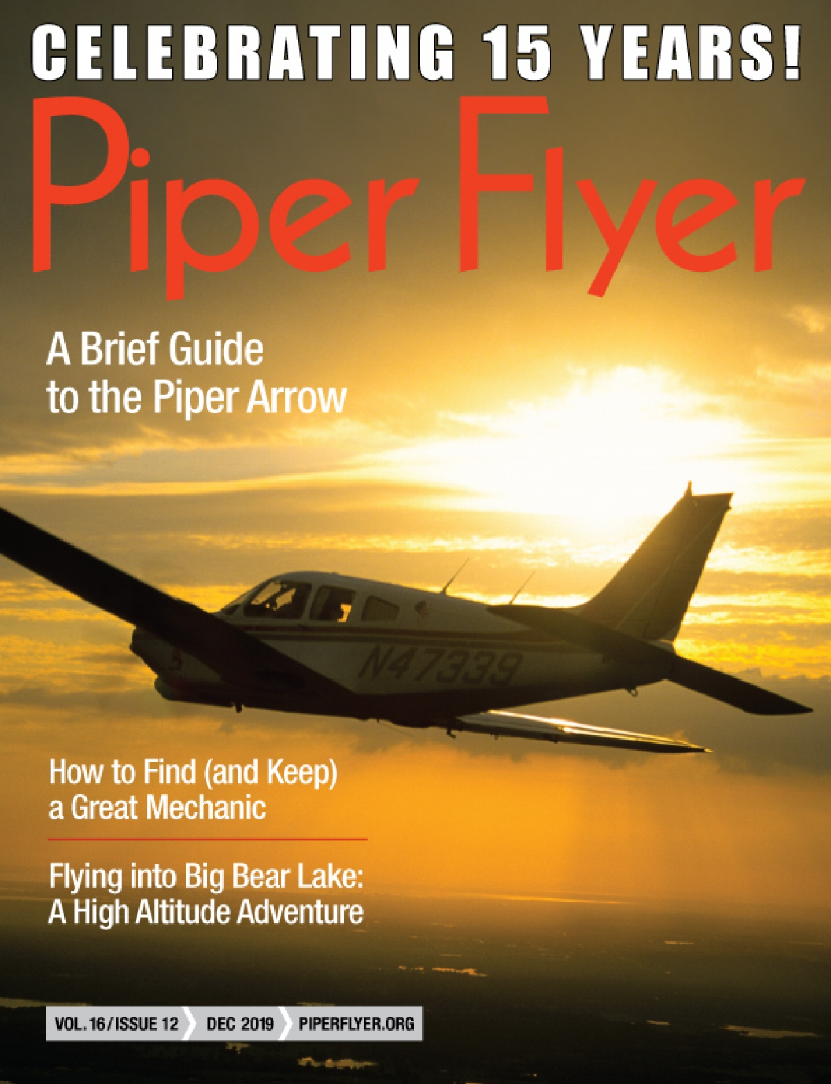 DECEMBER 2019 PIPER FLYER MAGAZINE