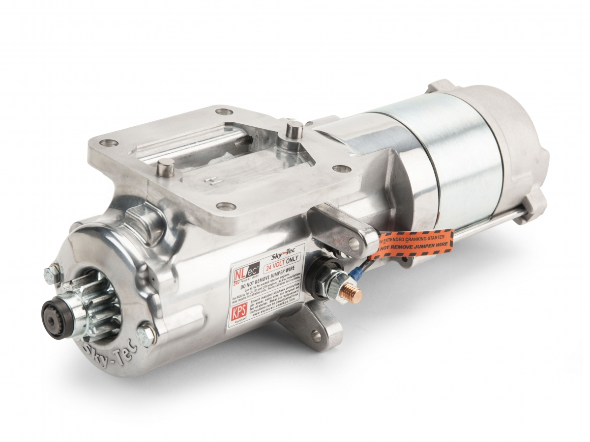 Hartzell Engine Technologies Reintroduces the Sky-Tec 149/122NL 12-Volt Starter for Lycoming Engines