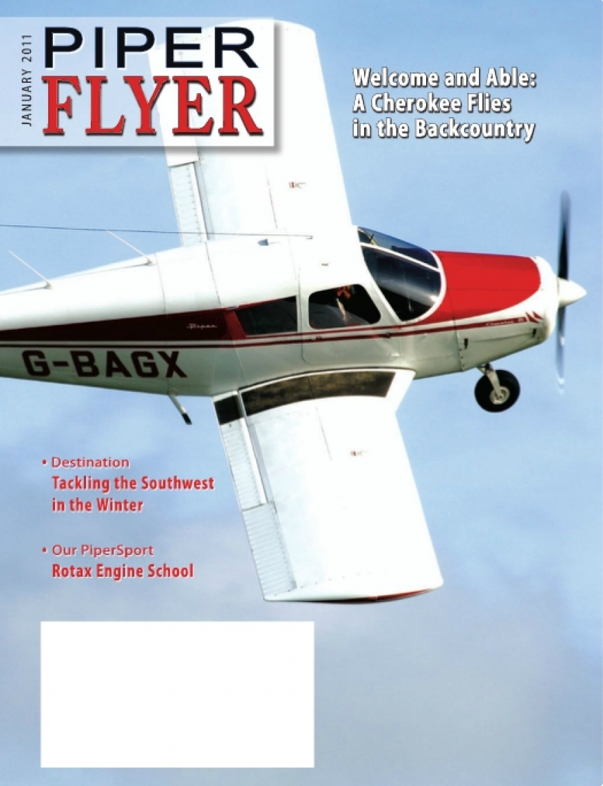 January 2011 Piper Flyer magazine