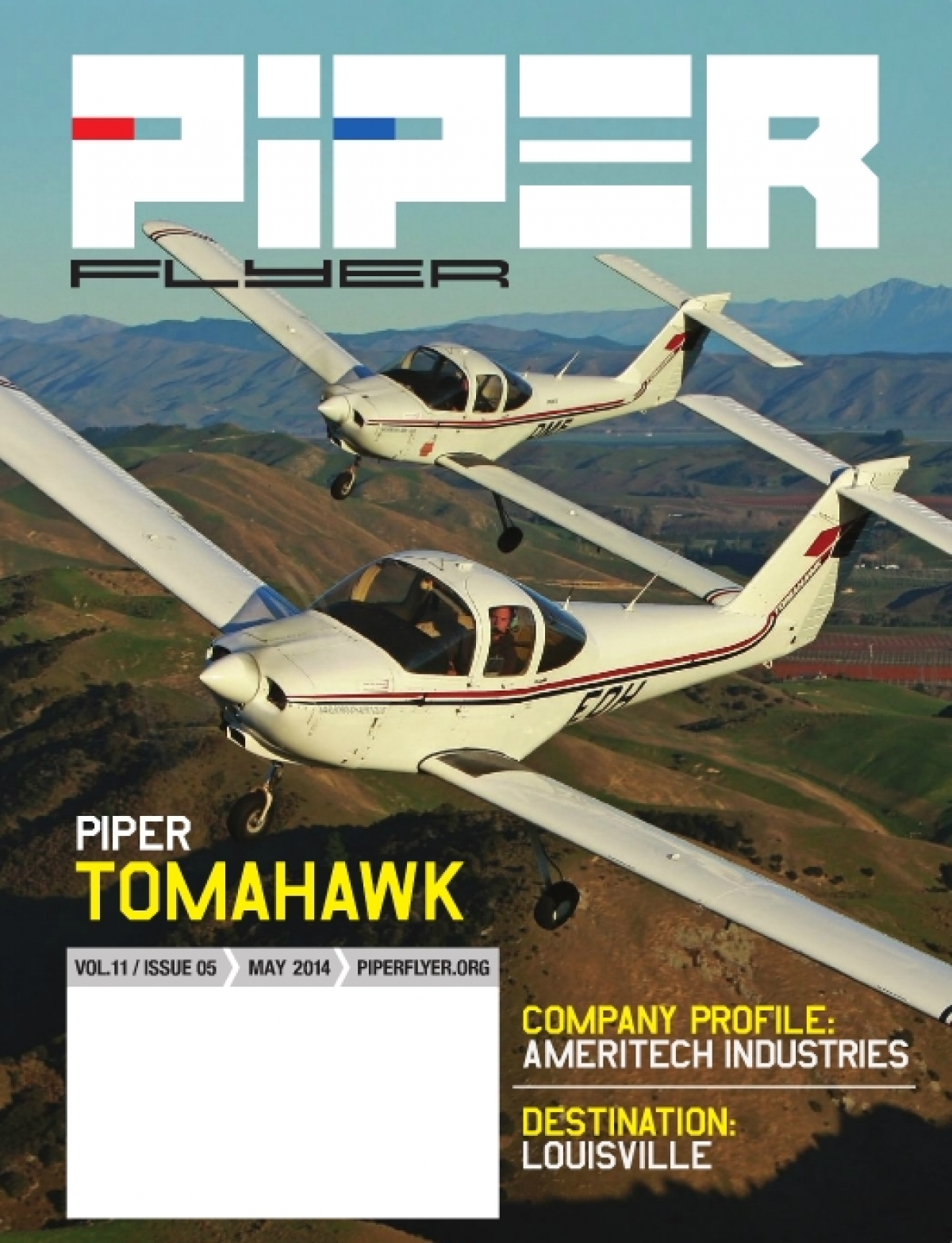 May 2014 Piper Flyer magazine