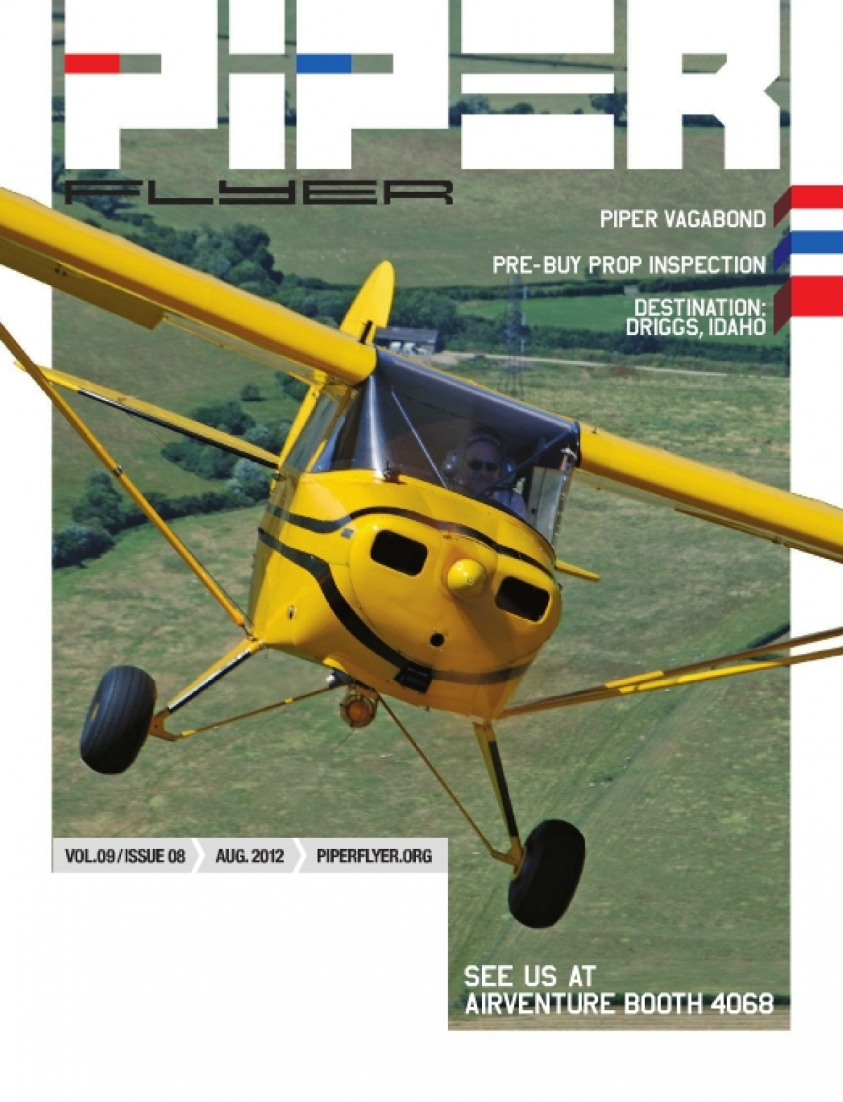 August 2012 Piper Flyer magazine