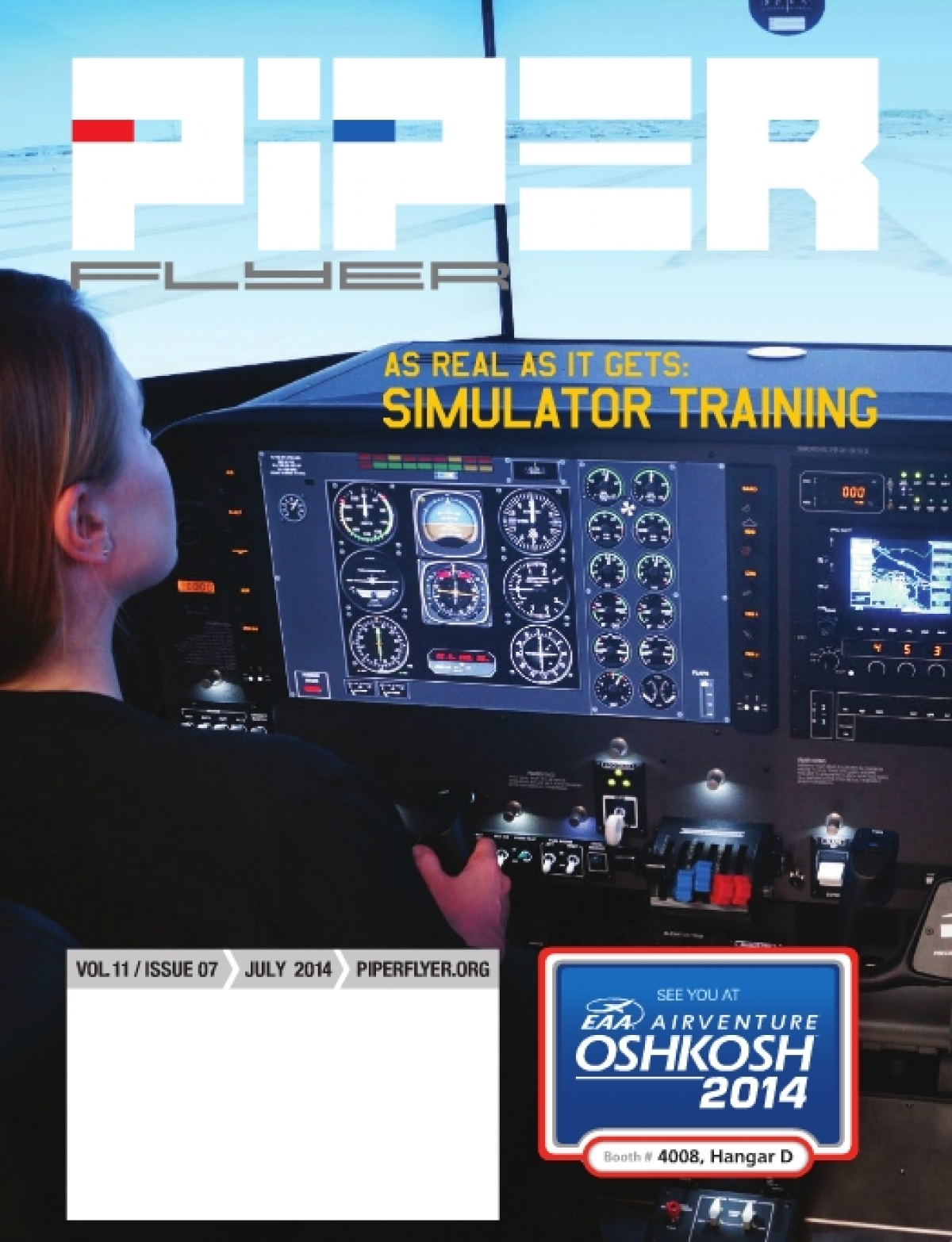July 2014 Piper Flyer magazine