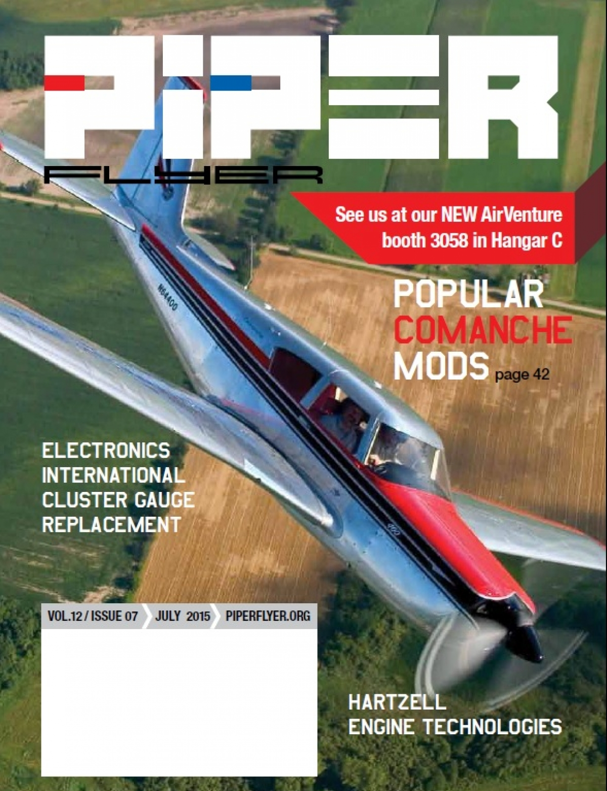 July 2015 Piper Flyer magazine