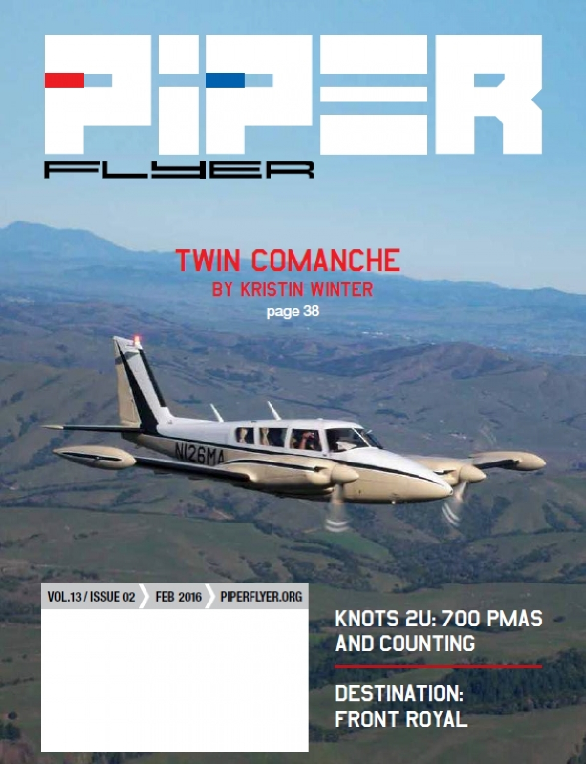 February 2016 Piper Flyer magazine