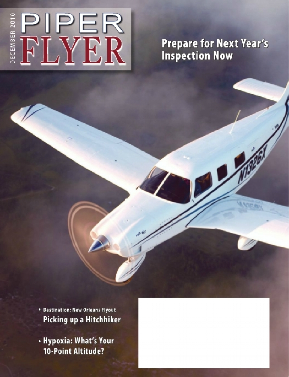 December 2010 Piper Flyer magazine