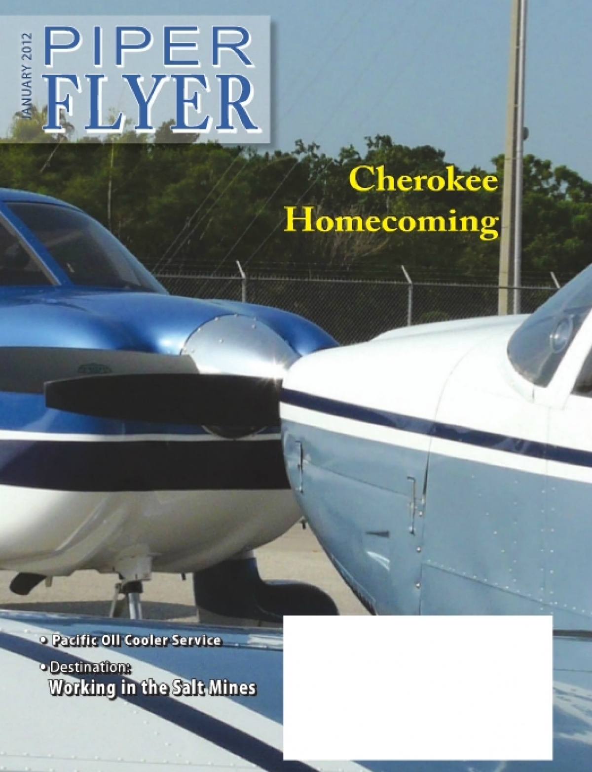 January 2012 Piper Flyer magazine