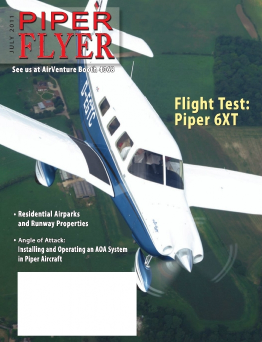 July 2011 Piper Flyer magazine