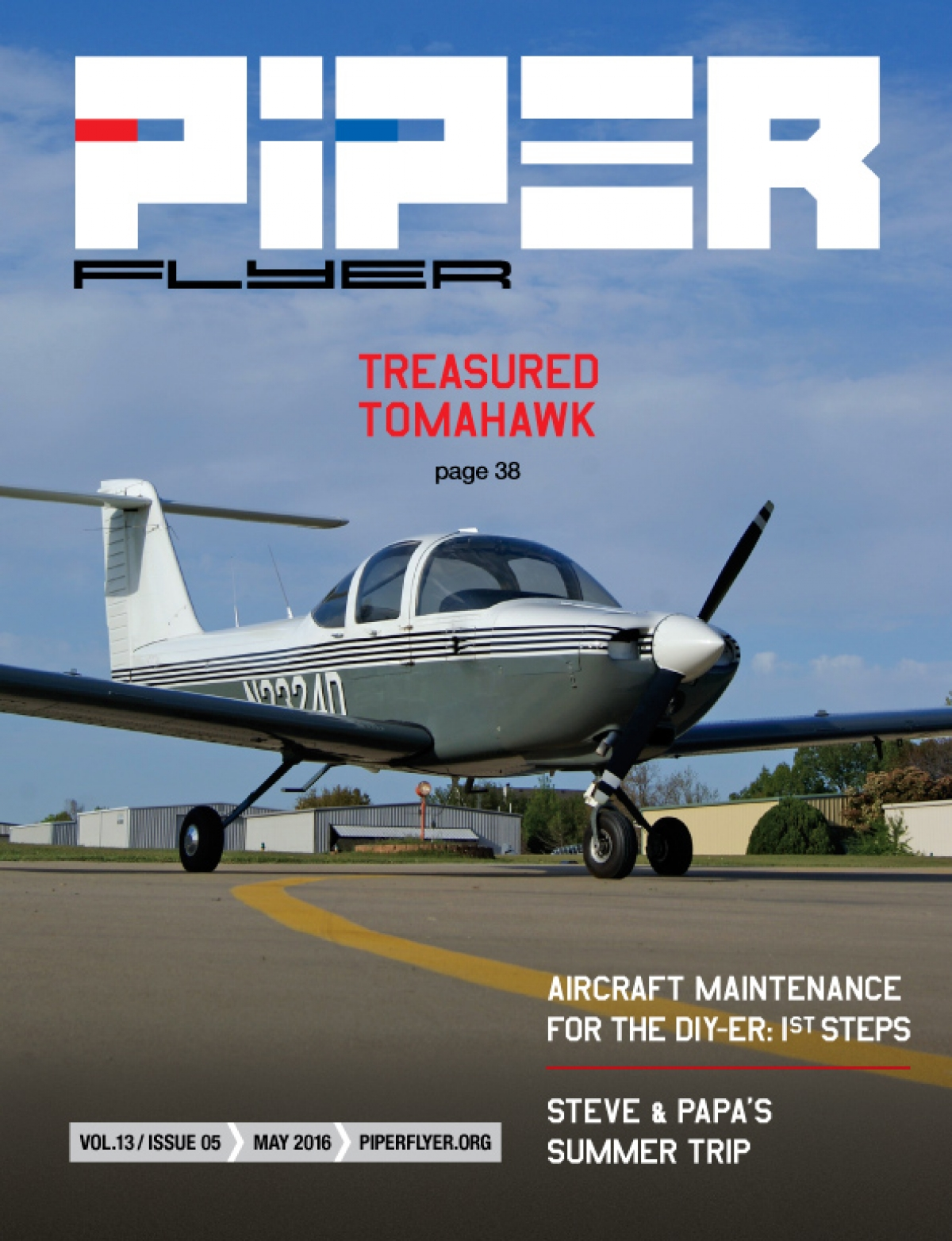 May 2016 Piper Flyer magazine
