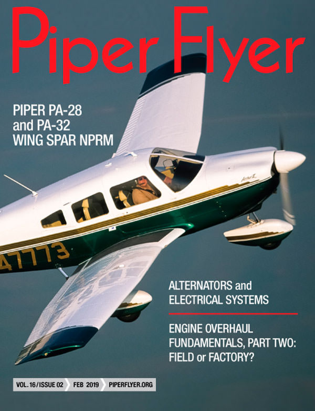 FEBRUARY 2019 PIPER FLYER MAGAZINE