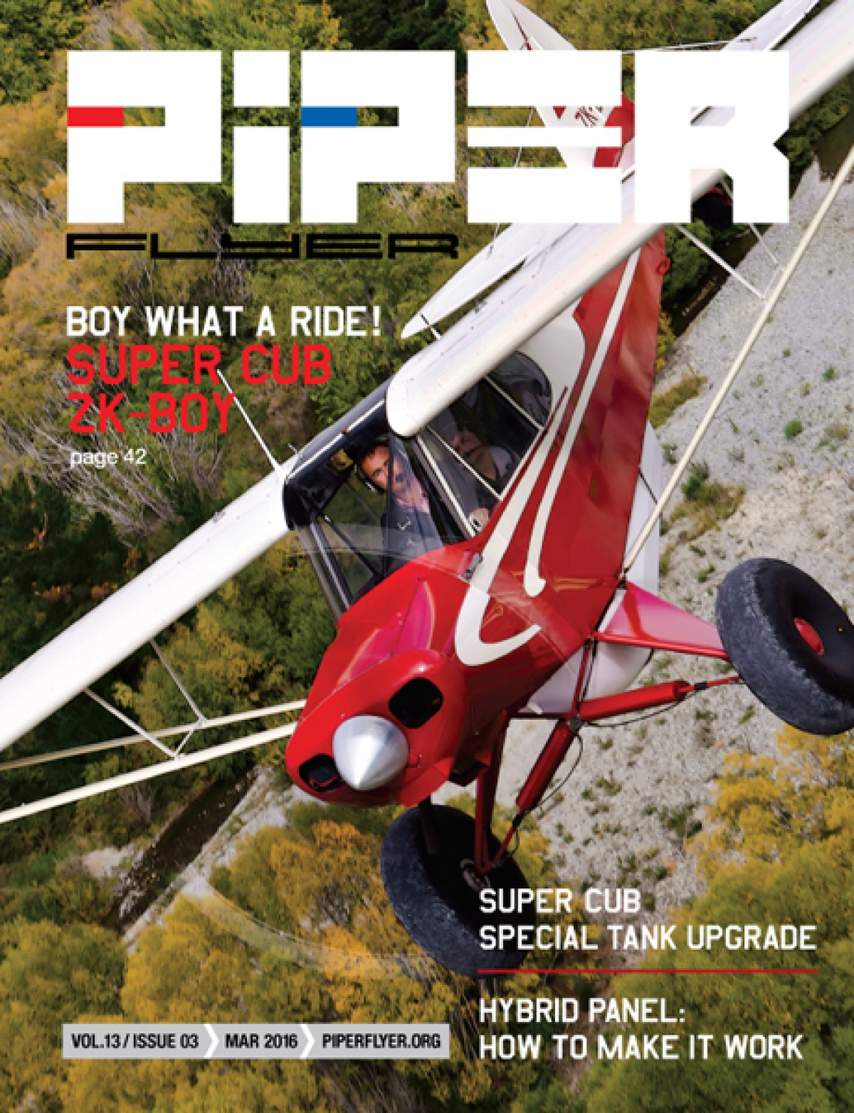 March 2016 Piper Flyer magazine