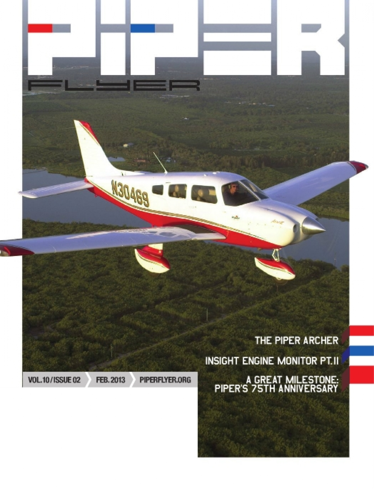 February 2013 Piper Flyer magazine