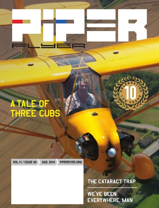 August 2014 Piper Flyer magazine
