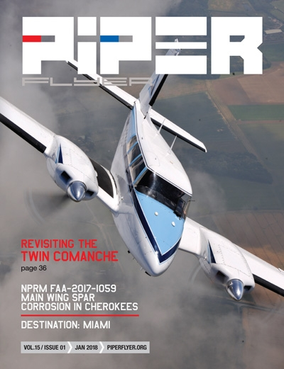 January 2018 Piper Flyer magazine