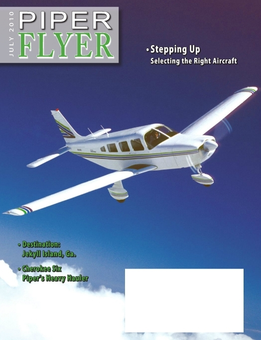 July 2010 Piper Flyer magazine