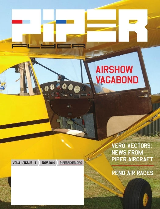 November 2014 Piper Flyer magazine