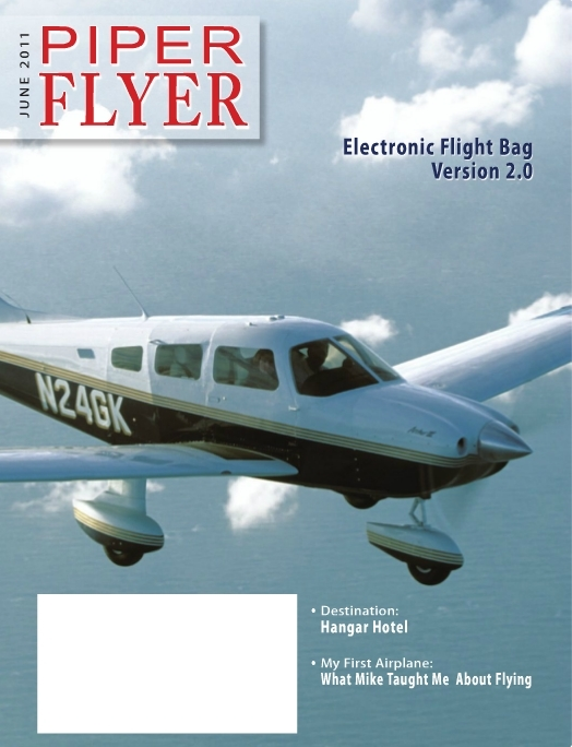 June 2011 Piper Flyer magazine