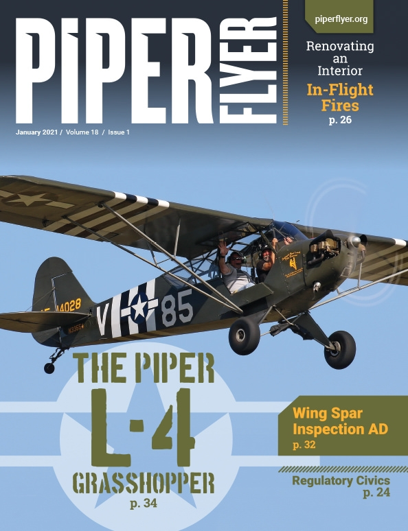 JANUARY 2021 PIPER FLYER MAGAZINE