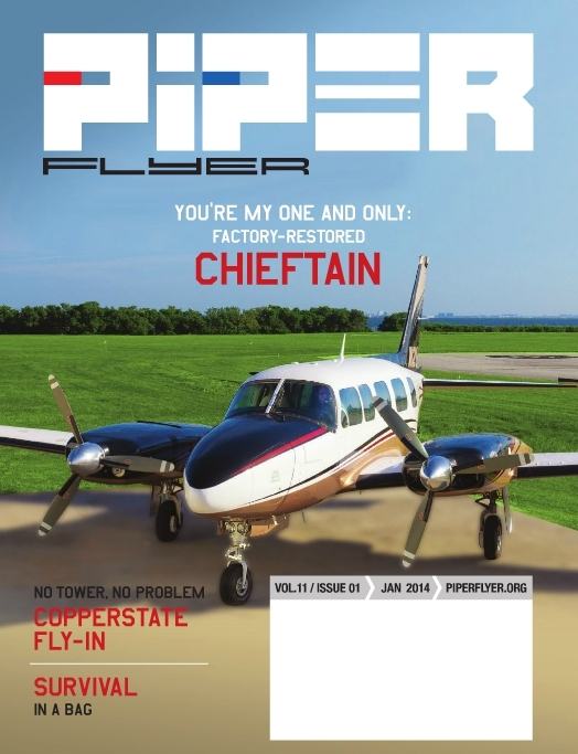 January 2014 Piper Flyer magazine