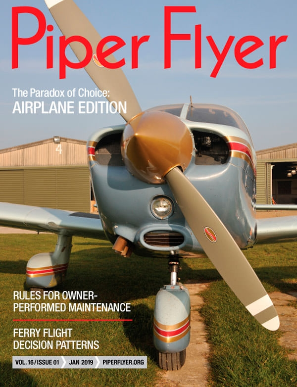 JANUARY 2019 PIPER FLYER MAGAZINE