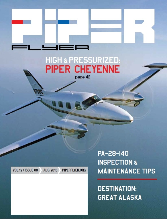 August 2015 Piper Flyer magazine