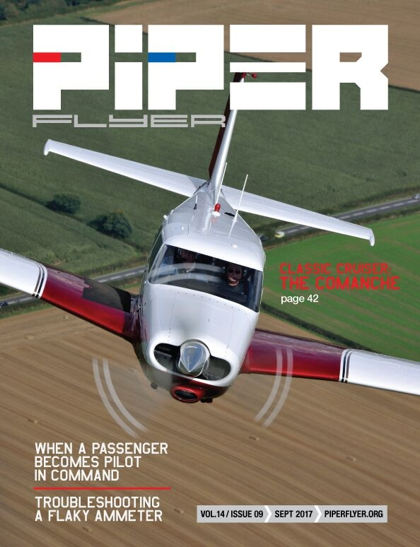 September 2017 Piper Flyer magazine